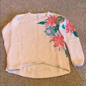 Girls Garnet Hill Kids sweater Sz M